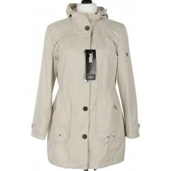 kurtka wiosenna Biba Alexa jasnobeżowa rozmiar 38 40 44 46 48