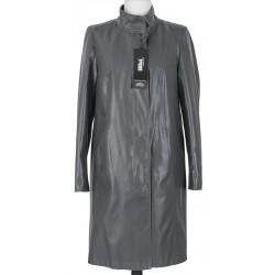 płaszcz Biba Cyntia grafitowo czarny rozmiar 40 42 44 46 48 50 52