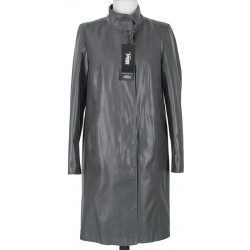 płaszcz damski Biba Cyntia ciemny popielaty rozmiar 44 46 48 50 52 54