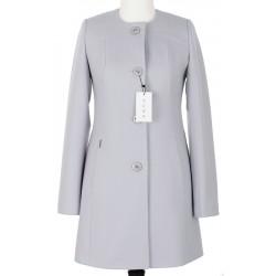 jasnopopielaty płaszcz damski Huna Niki rozmiar 38 40 42 44 46