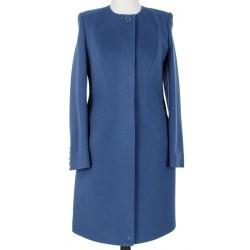 płaszcz damski Dziekański Aspazja ciemnoniebieski rozmiar 38 42 44