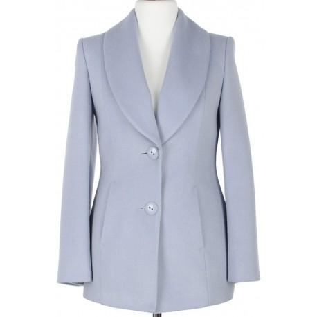 84dcd6a773533 kurtka Dziekański Scarlett jasny błękitny rozmiar 36 38 40 42 44 46