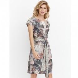sukienka Feria FD206-2-36 moro zielona rozmiar 38 40 42 44 46 48