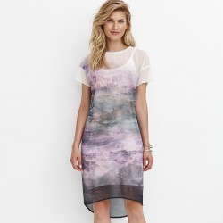 sukienka krótki rękaw Feria FD221-3-64 tiul rozmiar 38 40 42 44 46 48