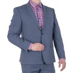 Niebieski garnitur wełniany Lord T-284 roz. 46 48 50 52 54 56 58 60 62