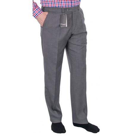 a0c956d639a334 Szare proste spodnie Lord wizytowe w kant wełniane roz. 82-112 cm
