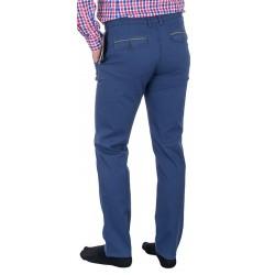 Spodnie bawełniane Lord R-70 niebieskie chinosy rozmiar 82-112 cm