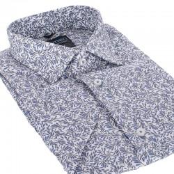 Bawełniana koszula Comen krótki rękaw slim 39 40 41 42 43 44 45 46