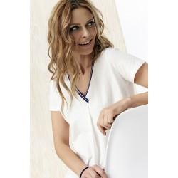 bluzka damska Sunwear Y33-3-09 biała rozmiar 38 40 42 44 46 48