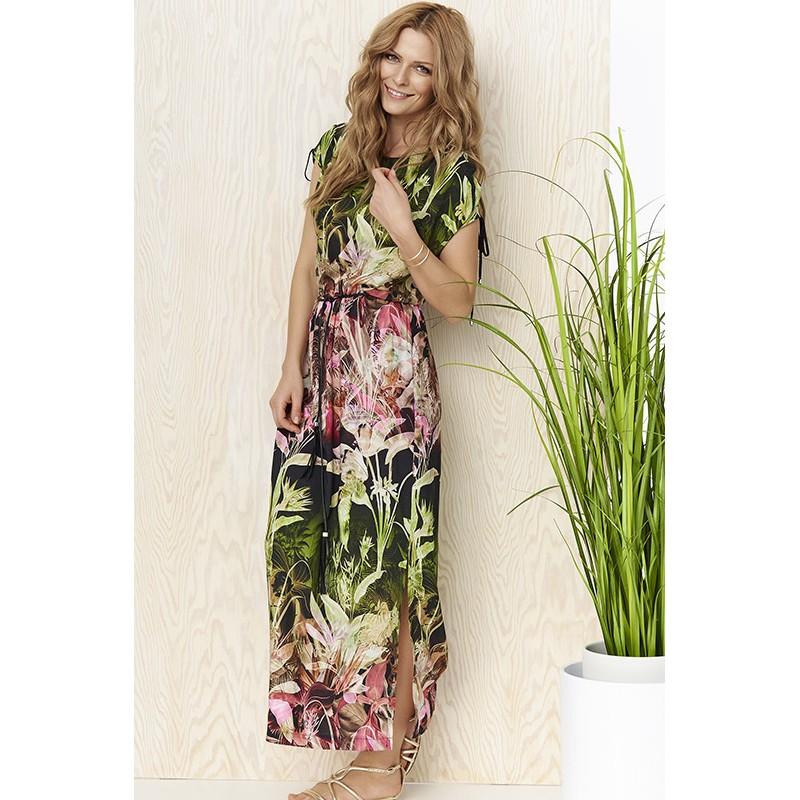 Sunwear YS209-2-36 różowo zielona