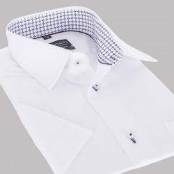 Biała koszula krótki rękaw Comen slim 38 39 40 41 42 43 44 45 46 48 50