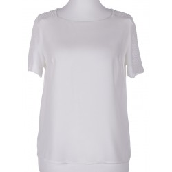 bluzka damska Sunwear Y26-3-08 ekrii rozmiar 38 40 42 44 46 48