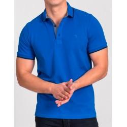 Niebiesko-morska koszulka polo Repablo Simon 1907-8 M L XL 2XL 3XL 4XL