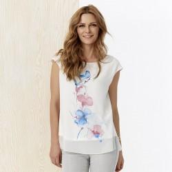 letnia bluzka damska Sunwear Y11-2-15 ekrii rozmiar 38 40 42 44 46 48