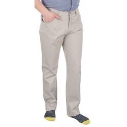 Kremowe spodnie bawełniane Lord R-5