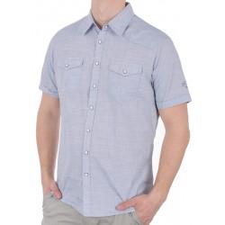 Jasnoniebieska koszula Pako KMKR 4 Sola krótki rękaw M L XL 2XL 3XL
