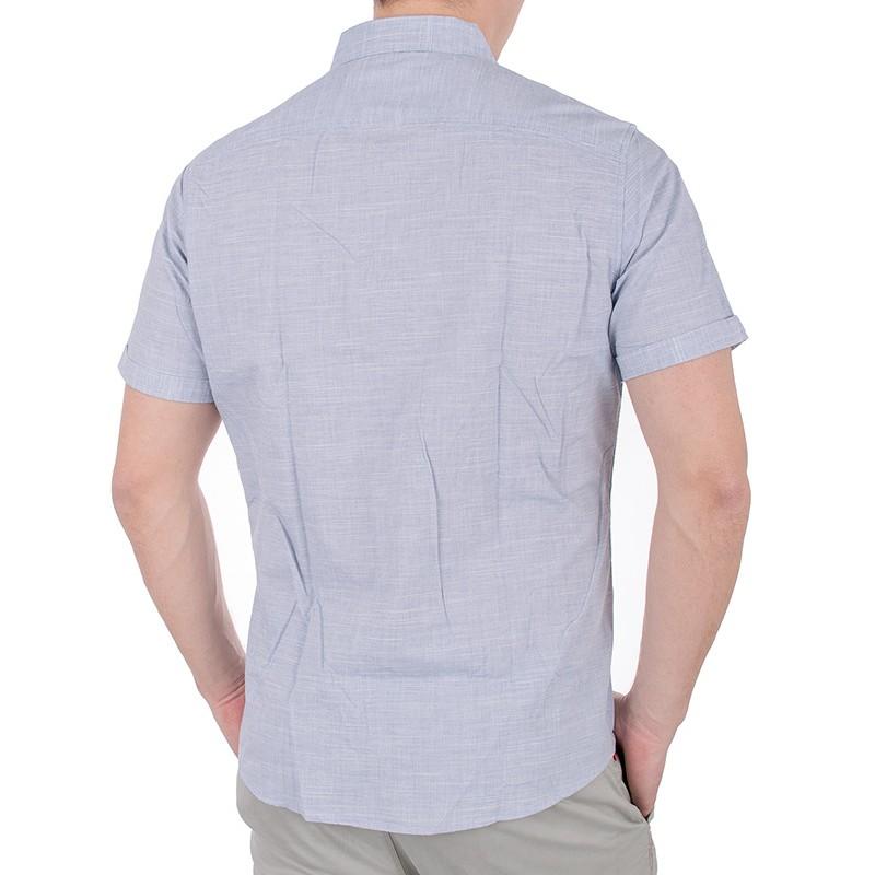 Jasnoniebieska koszula Pako KMKR 4 Sola krótki rękaw