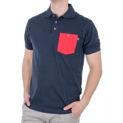 Granatowa koszulka polo Kings 750*802FK bawełna M L XL 2XL 3XL 4XL