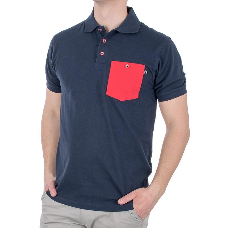 Granatowa koszulka polo kr. rękaw Kings 750*802FK