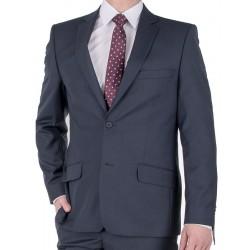 Wełniany garnitur Lord T-298 grafitowy 46 48 50 52 54 56 58 60 62 64