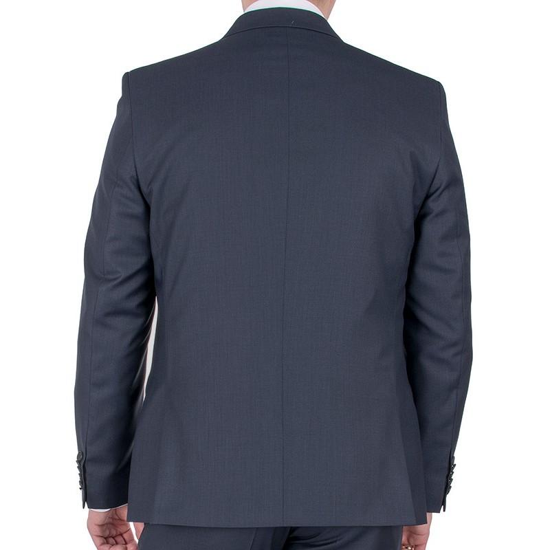 Granatowy garnitur Lord T-298 wełniany