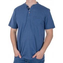 Niebieska koszulka t-shirt PakoJeans TM Corona roz. M L XL 2XL 3XL