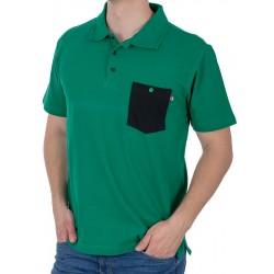 Zielone polo męskie Kings 750*802FK kr. rękaw roz. M L XL 2XL 3XL 4XL