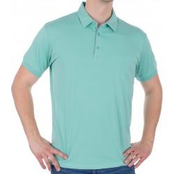 Miętowa koszulka polo Tris Line 1922 bawełniana r. M L XL 2XL 3XL 4XL