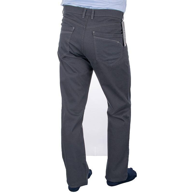 Spodnie bawełniane Lord R-20 - szare