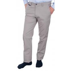 Kremowe spodnie chinos Lord R-69 bawełniane rozmiar 82-114 cm