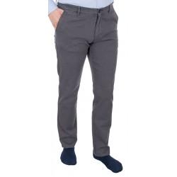 Szare chinosy bawełniane Lord R-165 zwężane nogawki rozmiar 82-114 cm
