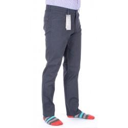 Granatowo-jeansowe spodnie Lord R-40