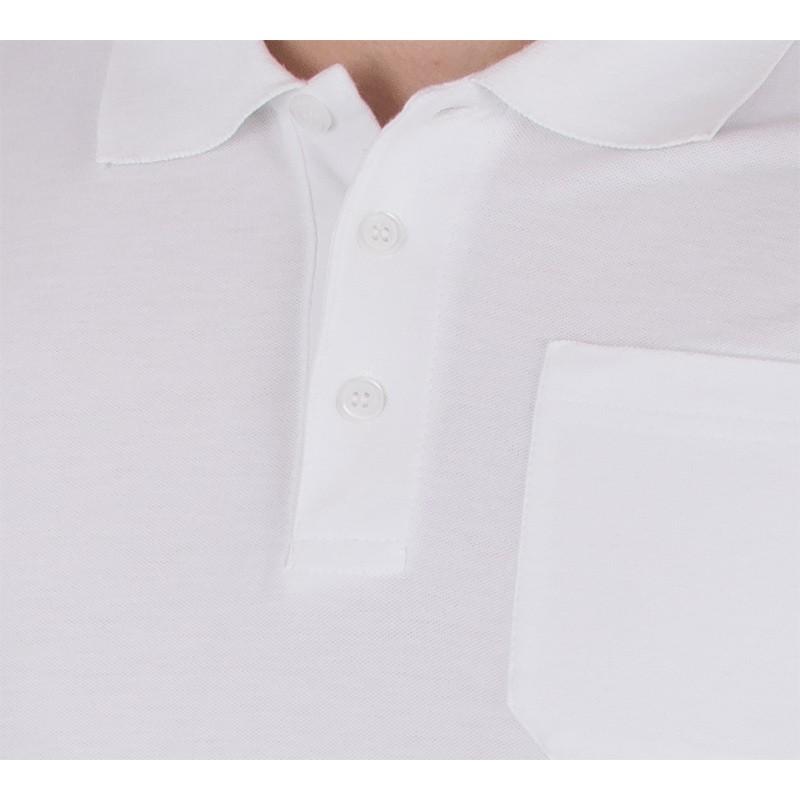 Koszulka polo biała z kr. rękawem Kings 750 802