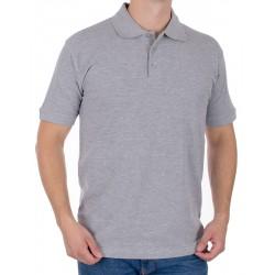 Szara koszulka polo z krótkim rękawem Kings 750*802 M L XL 2XL 3XL