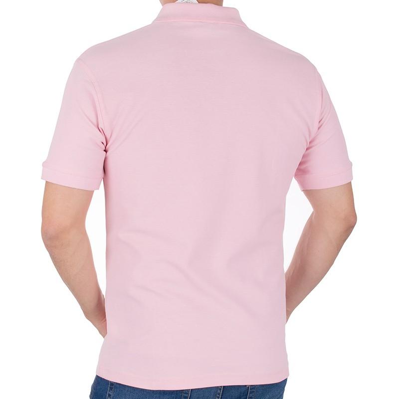 Koszulka polo Kings 750 802 blady różowy