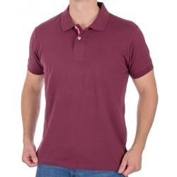 Bordowa koszulka polo Kings 750*00576 bawełniana M L XL 2XL 3XL 4XL