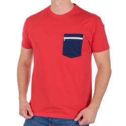 Czerwona koszulka T-shirt Kings 750-101Z z kieszenią S M L XL 2XL 3XL