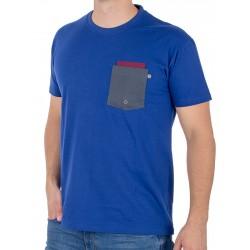 Niebieski T-shirt Kings 750-101KO z kieszeniami roz. S M L XL 2XL 3XL