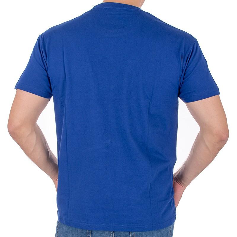 Koszulka T-shirt Kings 750-101KO z kieszenią - kobaltowy niebieski