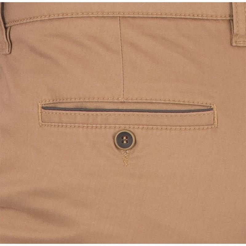 Beżowe spodnie bawełniane Lord R-91