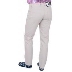 Kremowe spodnie 5-pockets Lord R-159 zwężane bawełniane roz. 82 – 112