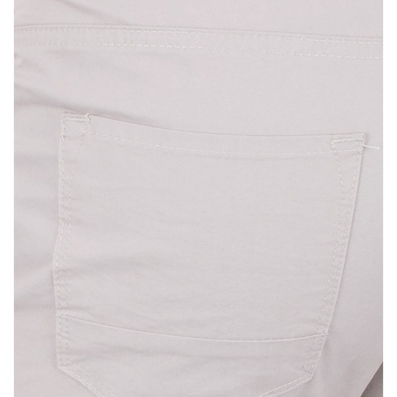 Kremowe spodnie 5-pockets Lord R-159