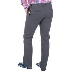 Grafitowo-szare spodnie chinos Lord R-13 niezwężane rozmiar 82 – 112