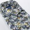 Kolorowa koszula Comen krótki rękaw w palmy r. 39 40 41 42 43 44 45 46