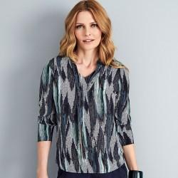 Granatowa bluzka damska Sunwear A16-5-30 rozmiar 40 42 44 46 48