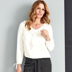jasna bluzka Sunwear A45-5-08 ekrii rozmiar 38 40 42 44 46 48