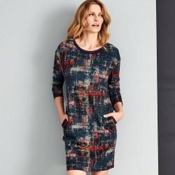 kolorowa sukienka Sunwear AS217-5-16 rozmiar 40 42 44 46 48