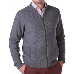 Szaro-popielaty sweter Lasota Wiktor rozpinany roz. M L XL 2XL 3XL 4XL