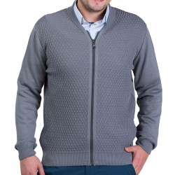 Rozpinany sweter Lasota Parys szary-popiel roz. M L XL 2XL 3XL 4XL