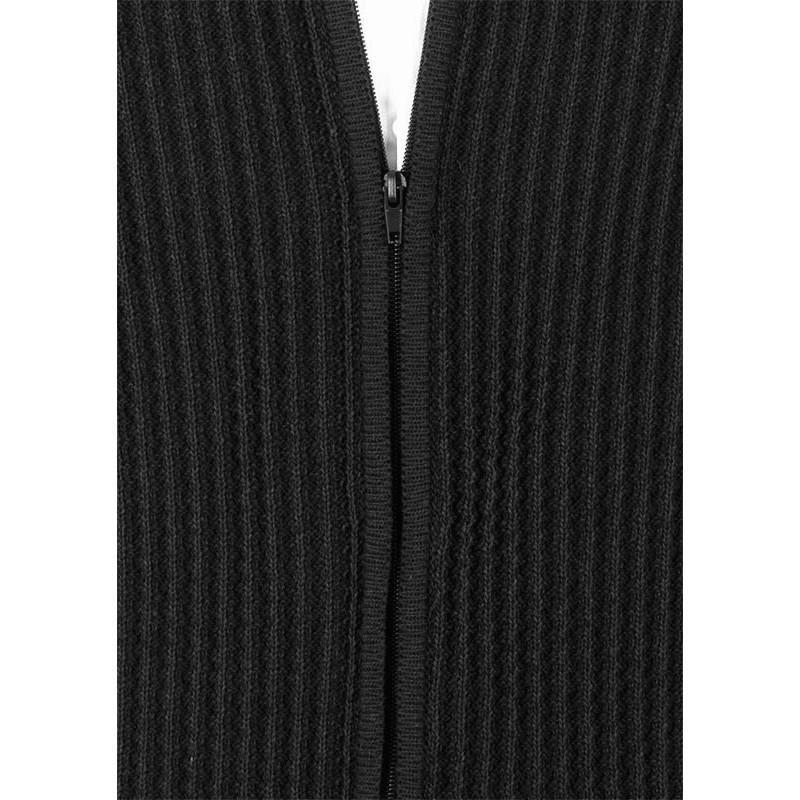 Rozpinany sweter Lidos SW97 grafitowy
